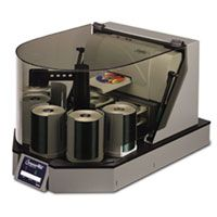 Primera ComposerMax / 52x CD-R / 400 Disc / Firewire / 4-Writers / CD Duplicator (62402)