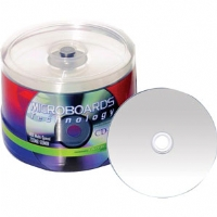 Microboards Taiyo Yuden CD-R 52X, White Thermal Print 600 Pack