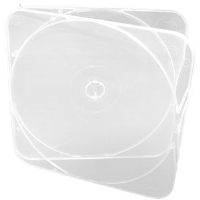 Microboards CB-11 DURASLIM/C 500 Pack Clear CD/DVD/Blu-ray Cases