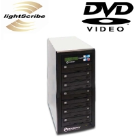 Microboards LS DVDPRM PRO07 1:7 CopyWriter Pro LightScribe CD/DVD Duplicator - CD 48X, DVD 20X, 250GB Hard Drive