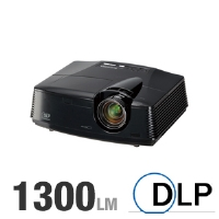 Mitsubishi HC3800 DLP Projector - 1300 ANSI Lumens, 1080p, 1920x1080, 4000:1 Native, HDMI