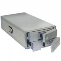 Fantom DDQ-2000 DataDock II Quad Interface Dual Drive RAID - 2TB, USB 2.0, eSATA, FireWire 400, FireWire 800