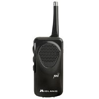 Midland HH50 Pocket Weather Alert Radio - Autoscan, Telescopic Antenna, All Hazards Alert, Black