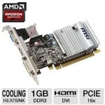 MSI R5450-MD1GD3H/LP Radeon HD 5450 Video Card - 1GB DDR3, PCI-Express 2.0, VGA, HDMI, DVI, DirectX 11, Low Profile
