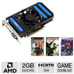 MSI Radeon HD 7850 Video Card - 2GB GDRR5, PCI-Express 3.0 (x16), 1x Dual-link DVI-I, 1x HDMI, 2x Mini DisplayPort, DirectX 11, Overclocked, Dual-Slot, Fan, (R7850-2GD5/OC)