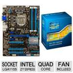 ASUS P8Z77-V LX Intel 7 Series Motherboard and Intel Core i7-3770K 3.50 GHz Quad Core Unlocked Bundle