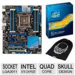 ASUS P9X79 Intel X79 Motherboard and Intel Core i7-3820 3.60GHz Quad-Core Processor and Free Extreme Edition Intel Beanie Bundle