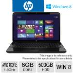 HP Pavilion g7-2243us Refurbished Notebook PC - AMD Quad-Core A8-4500M 1.9GHz, 6GB DDR3, 500GB HDD, DVDRW, 17.3&quot; Display, Windows 8 (RB-B5Z58UAR)