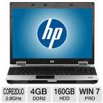 "HP EliteBook 8530p Notebook PC - Intel Core 2 Duo 2.8GHz, 4GB DDR2, 160GB HDD, DVDROM, 15.4"" Display, Window 7 Professional 64-bit (Off-Lease) (RB-HP8530P/2.8C2D)"
