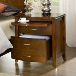 Brighton Two Drawer Nightstand in Cinnamon