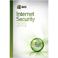 AVG INTERNET SECURITY 2013, 3-USER 1-YEAR