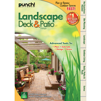 PUNCH! LANDSCAPE, DECK AND PATIO V17
