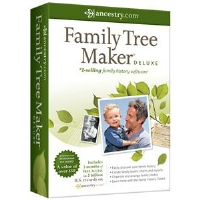 Ancestry.com Family Tree Maker Deluxe Software