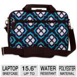 Nuo-Tech Chloe Dao Attach 102087 15.6&quot; Laptop Briefcase - Water-resistant, Front Zipper Pocket, Organizer, Detachable Padded Shoulder Strap
