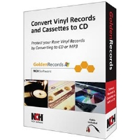 NCH Golden Records Software - Converts Vinyl Records To CD or MP3