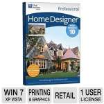 Chief Architect Home Designer Professional 10 Software - Advanced CAD Tools, Advanced Building Tools, Ability To Create Blueprints, For Windows