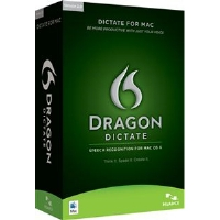 Nuance Dragon Dictate 2.0 Software - Speech Recognition, INCLUDES USB Microphone, For Mac