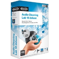 Magix Audio Cleaning Lab 16 Deluxe Software - Audio Restoration, 1-Click Cleaning & Mastering