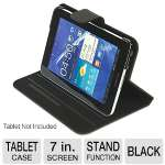 "Tucano Agile Hard Folio Case - For Samsung Galaxy Tab 2 7.0"", Magnetic Front Cover, Multiple Stand-up System, Black, (8109258)"