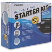 Norazza 12190 Blu-Ray Starter Kit - 6oz Screen Cleaner, Microfibre Terry Cloth, 2 HDMI Cables