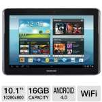 Samsung Galaxy Note 10.1 Tablet - Android 4.0 Ice Cream Sandwich, Quad-Core 1.4GHz Processor, 10.1&quot; Touchscreen, 16GB Storage, WiFi, Dual Webcams, S Pen, Grey (RB-GT-N8013-EA16ARB) (Refurbished)
