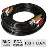 Night Owl CAB-100 BNC Extension Cable