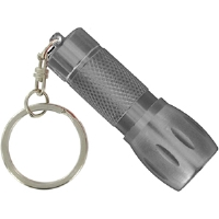Norlite 08-NKC1-P Keychain Flashlight - Platinum