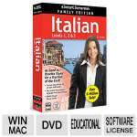 Instant Immersion Italian Family Edition - Levels 1, 2, & 3, Interactive DVD, 10 Hours Of Audio, Pocket Phrase Guide - 8115436