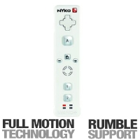 Nyko 87095 Wii Wand+ - Full Motion Technology, Rumble Support, Trans-port Technology