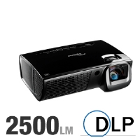 Optoma EX525ST Professional Series XGA DLP Projector - 2500 ANSI Lumens, XGA 1024x768, 2500:1 Native, 4:3 Native, 9.5 lb