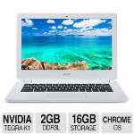 "Acer CB5-311-T7NN NVIDIA Tegra K1 2GB Memory 16GB Internal Storage 13.3"" Chromebook Google Chrome OS - NX.MPRAA.001"
