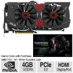ASUS GeForce GTX 980 STRIX Video Graphics Card - 4GB GDDR5, 256-bit, PCIe 3.0,