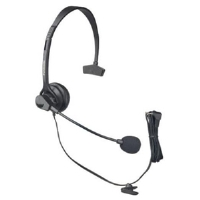 Panasonic KX-TCA60 Headband Headset Accessory - Microphone Included, Black