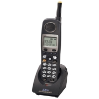 Panasonic KX-TGA450B Additional Wireless Phone Handset - Compatible For KX-TG4500B Telephone System, 4 Line, 5.8 GHz, Caller ID