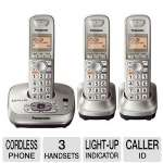 Panasonic KX-TG4023N Cordless Phone with 3 handset - Dect 6.0 PLUS, 1.9GHz frequency, Intelligent Eco Mode