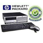 HP Compaq Desktop Intel Core 2 Duo 1.8GHz 2GB RAM 80GB HDD Win 7 Professional Refurbished, Pre-Installed Microsoft Office 30 day free trial, LIFETIME WARRANTY-RB-813403019957