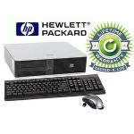HP Compaq Desktop Intel Core 2 Duo 2.3GHz 2GB RAM 120GB HDD Win 7 Professional Refurbished, Pre-Installed Microsoft Office 30 day free trial, LIFETIME WARRANTY-RB-812177020015
