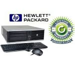 HP Compaq Desktop Intel Core 2 Duo 3.0GHz 4GB RAM 160GB HDD Win 7 Professional Refurbished, Pre-Installed Microsoft Office 30 day free trial, LIFETIME WARRANTY-RB-812177020077