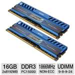 This kit comes with 2x 8GB memory modules, giving you a total 16GB of DDR3 memory to enjoy smooth-running programs.