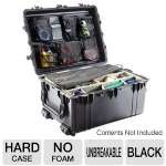 Pelican 1620-021-110 Hard Case - No Foam, Black