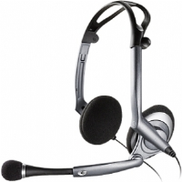 Plantronics DSP-400 Digitally-Enhanced USB Folding Stereo Computer Headset (76921-11)