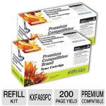 Premium Compatibles Panasonic KXFA93PC Cartridge Refill - 2PK