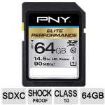 PNY Elite Performance SDXC Flash Memory Card