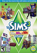 SIMS 3: 70S-80S-90S STUFF