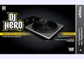 DJ HERO TURNTABLE (FOR PS2 & PS3)-NLA