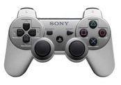 Sony DUALSHOCK3  Wireless Controller for PS3 - Silver
