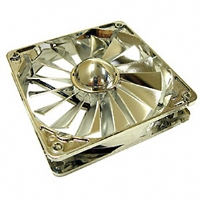 Aerocool Silver UV Frame 120mm Case Fan with 4 LEDs