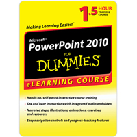 POWERPOINT 2010 FOR DUMMIES - 30 DAY ACCESS