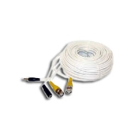 Q-SEE QS50B 50' BNC Male Cable with 2 Female Connectors
