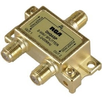RCA DH24SP Digital Plus Bi Directional Splitter - 2.4 GHz
